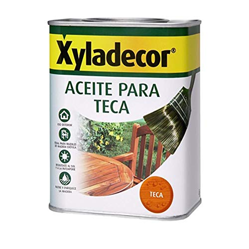 Xyladecor 5089084 Aceite Teca INCOLORO 750 ML