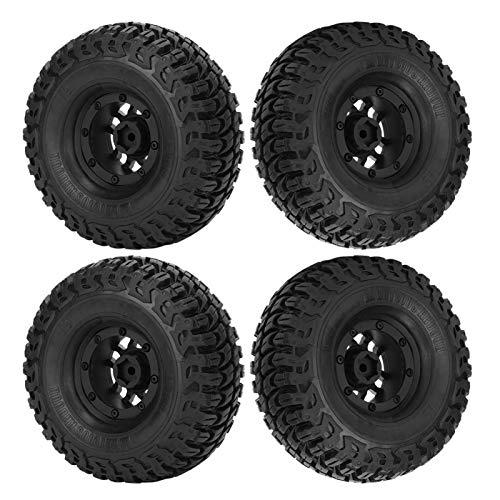 Starke Haftung Hohe Verschleißfestigkeit Tiefe Textur Breite Reifen Verbessern die weiche Textur RC-Autoreifen für SCX10 II TRX-4 D90 D110 für Axial