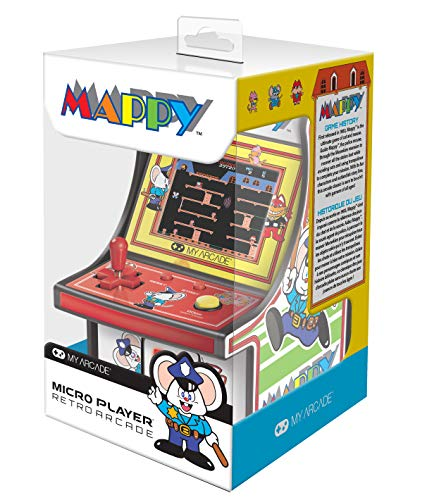 6 Zoll Collectible Retro Mappy Micro Player