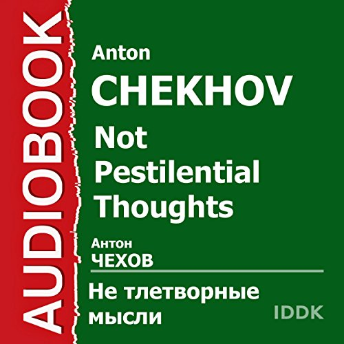 Not Pestilential Thoughts audiobook cover art