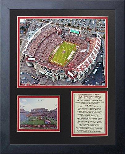 University of South Carolina Gamecocks NCAA Framed Photograph Milestone Collage