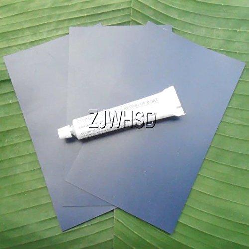 Abbott - Parche azul de PVC + pegamento