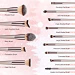 Beauty Shopping BESTOPE 18 PCs Makeup Brushes Premium Synthetic Contour Concealers Foundation Powder
