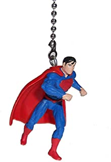 DC Comics Super Hero Superhero Character Vinyl Ceiling Fan Pull Light Chain (Superman)