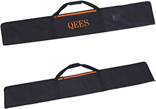 Guide Rail Bag,Heavy-Duty Polyester - Rip and Tear Resistant,Protective Track Saw Bag with Zipper Pocket,Dual-Sided Paddin...