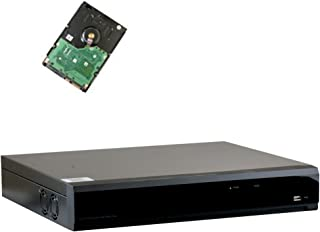 32 Channel Full 1080P Video Recording Security Standalone DVR with HDMI/VGA 1080P Video Output for HD-TVI/AHD/CVI/960H Surveillance Camera (Pre-installed 4TB HDD, 4x HDD bay, up to 32TB total)