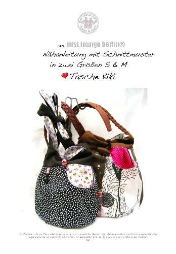 Kiki Nähanleitung mit Schnittmuster auf CD für Handtasche, Schultertasche in 2 Größen