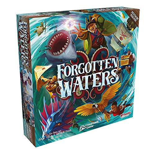 Plaid Hat Games PHGD0035 Asmodee Forgotten Waters, Kennerspiel, Brettspiel, Deutsch