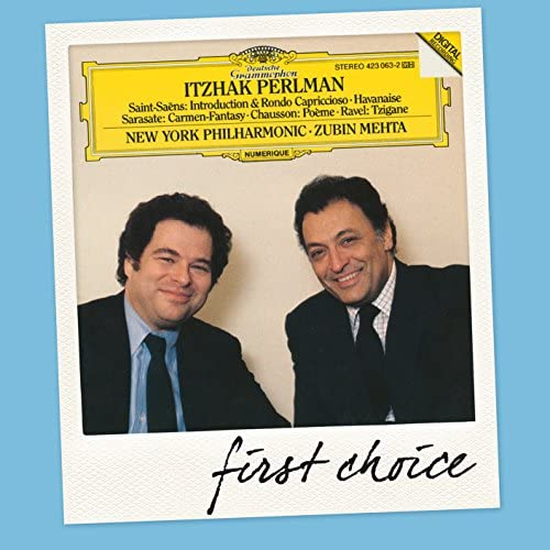 Itzhak Perlman, New York Philharmonic & Zubin Mehta