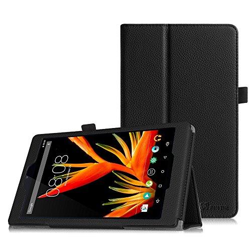 Fintie Hülle für Alldaymall 7 Zoll Tablet - Premium Kunstleder Schutzhülle Tasche Folio Cover mit Stylus-Halterung für Alldaymall A88T Pro 7 Zoll FHD Android Tablet, (Schwarz)