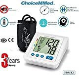 Choicemmed CBP1K3 Fully Automatic Digital Blood Pressure,BP Monitor, Machine with Ultra Silent...