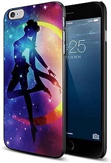 sailor moon anime logo galaxy For iPhone 6 Plus/6s Plus Black Case