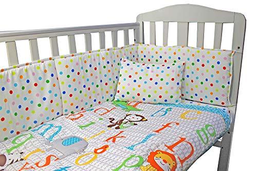 Parure de lit complète pour chambre d'enfant avec drap-housse, drap-housse et oreiller