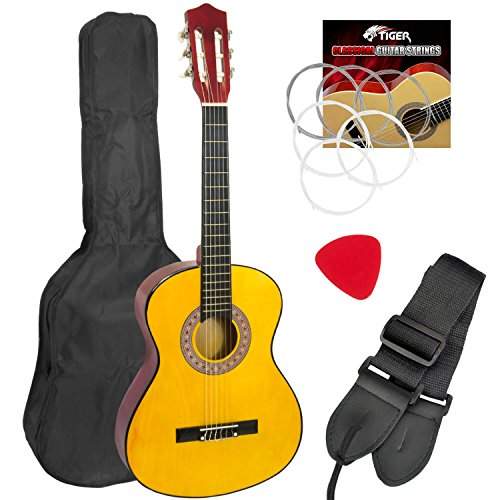 Mad About - Guitarra española clásica para zurdos, para niños (3/4)