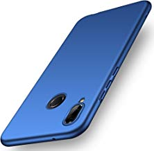 ORNARTO Funda Huawei P20 Lite, HW P20 Lite Carcasa [Ultra-Delgado] [Ligera] Mate Anti-arañazos y Antideslizante Protectora Sedoso Caso para Huawei P20 Lite(2018) 5.84' Azul