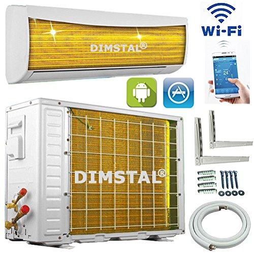 A++/A+ WiFi WLAN Golden-Fin 18000 BTU 5,1 kW Split Klimaanlage INVERTER Klimagerät und Heizung SmartHome
