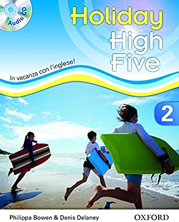 High five on holiday. Student book. Per la Scuola media. Con CD. Con espansione online: 2