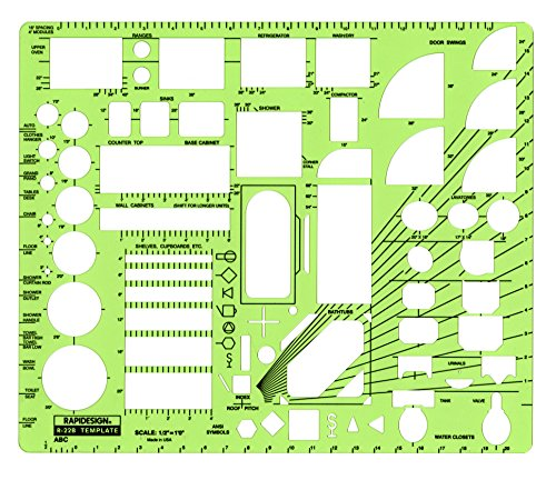Rapidesign 1 2 Inch Abc Architect Drawin Buy Online In Suriname At Desertcart