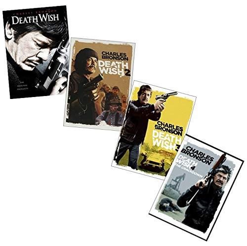 Charles Bronson Death Wish Quadrilogy DVD Collection: Death Wish / Death Wish 2 / Death Wish 3 / Death Wish 4: The Crackdown [4-Movie Set]