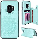 MMHUO for Samsung Galaxy S9 Case with Card...