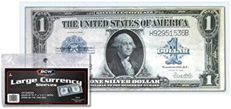 K1 1-Happy Anniversary  Dollars Bill Novelty with clear protector sleeve