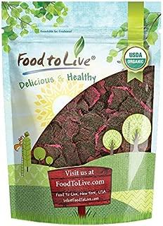 Organic Dried Red Dragon Fruit, 8 Ounces - Pitahaya, Non-GMO, Kosher, Unsweetened, Unsulfured, Healthy Snack, Bulk