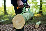 Fiskars Handpackzange zur Holzbearbeitung, Inklusive Köcher, Schwarz/Orange, WoodXpert, 1003625 - 6