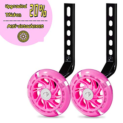 Replacement Training Wheels WHEELS ONLY with STEEL BUSHING