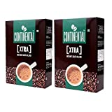 Continental Coffee Xtra Instant Coffee Powder, 200 g Bag in Box (Buy 1 Get 1)