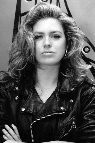 Moviestore Leilani Sarelle als Roxy in Basic Instinct 91x60cm Schwarzweiß-Posterdruck