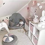 FlooForBaby 95x85cm Sacchi Termici Per Bambini Con Orecchie Di Coniglio Per Un Periodo Di Transizione Ed Estate Babyblue