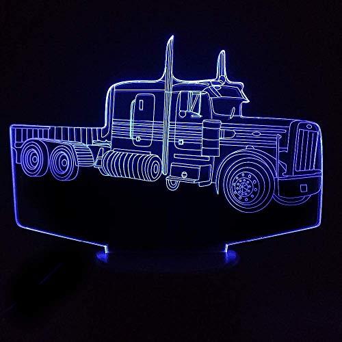 3D nachtlampje nachtlampje ruimteverlichting vliegtuig tractor batterij AAHome decoratie kinderkamer Gfit