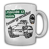5 PzGrenBtl 12 Osterode Panzergrenadier-Bataillon Militär Marder - Tasse #19595