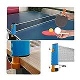 Red de Tenis de Mesa retráctil Ping Pong Set portátil Ping Pong Table Net Tablero de Tenis de Mesa Profesional Accesorio de Ping Pong