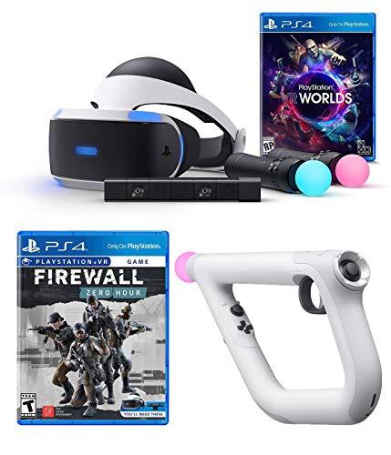 Playstation VR Launch Bundle 3articoli: VR Launch Bundle, Psvr obiettivo controller Farpoint Bundle, Mytrix cavo HDMI