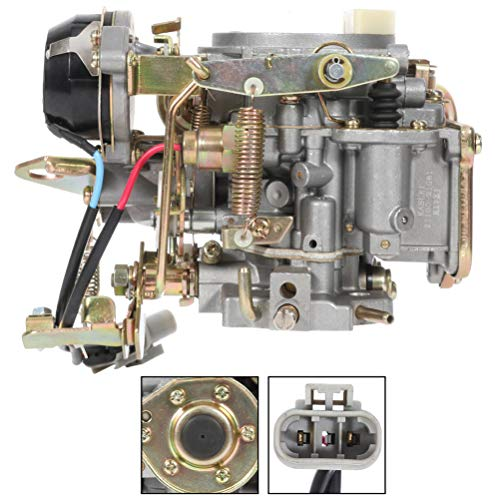 SCITOO 16010-21G61 1601021G61 Carburetor Compatible For Nissan 720 pickup 2.4L Z24 engine 1983-1986 For Nissan Bluebird Caravan Datsun Atras Truck Vanette Panel Van