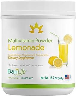 Bari Life Complete Bariatric Multivitamin Powder w/Calcium Citrate and Iron (Lemonade, 60 Scoops) (Lemonade, 60)