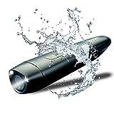 Spydro Caméra de pêche sous-marine avec application téléphone, caméra vidéo HD intelligente | Vision nocturne |450 mètres de profondeur sous l'eau|Enregistreur automatique de morsure | Noir, KIT 32GB
