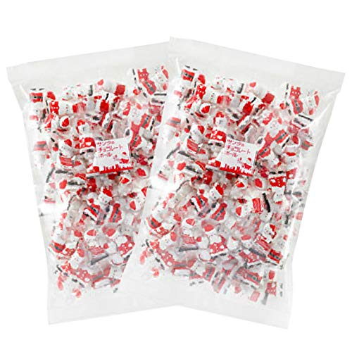 京菓子富久屋 業務用 サンタ チョコレートボール (500g 約150個入り) 2袋セット