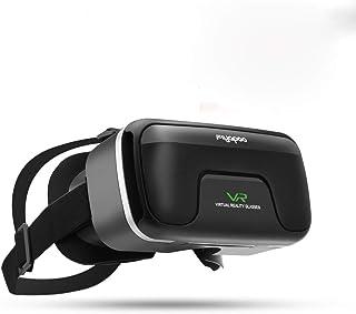 3D VR Gafas de Realidad Virtual, VR Glasses Visión Panorámico 360 Grado Película 3D Juego Immersivo para Móviles 4.0-6.0 Pulgada