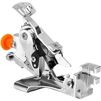 Máquina de Coser con Volantes GOTOP, prensatelas de fijación para ...