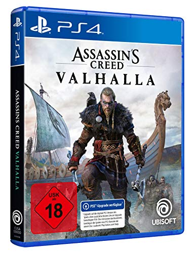 Assassin\'s Creed Valhalla - Standard Edition (kostenloses Upgrade auf PS5) - [PlayStation 4]