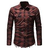 T-Shirt con Bujia de Moto Regalos Motoristas MAKAYA Camiseta Hombre para Mecanicos Motociclistas y Moteros