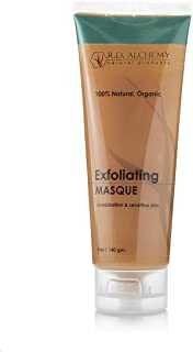 100% Natural & Organic Exfoliating Masque - Brightening Pumpkin & Papaya Enzyme Face Mask with Exfoliating Glycolic & othe...