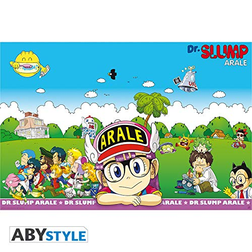 ABYstyle Dr. Slump-Póster (91,5 x 61) (Abysse Corp_ABYDCO478)