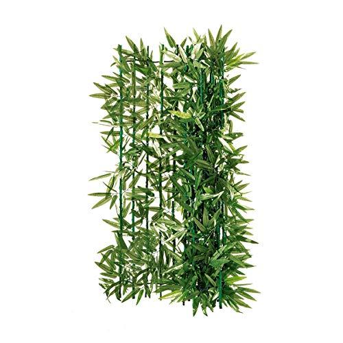 Pureday Balkon-Sichtschutz Bambus...