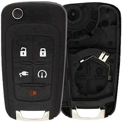 KeylessOption Keyless Entry Car Remote Flip Free shipping anywhere New arrival in the nation Key Fob Shell Start