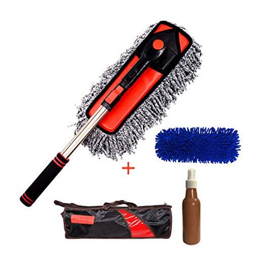 SSZZ Auto-borstel-stofzuiger, wasmop, vegen, as, borstel, auto, artiefact-auto-reinigingstool, Supplies Car Wash Car Mop, A