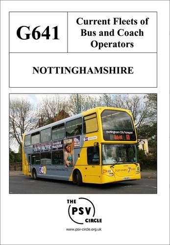Current Fleets of Bus and Coach Operators - Nottinghamshire: G641
