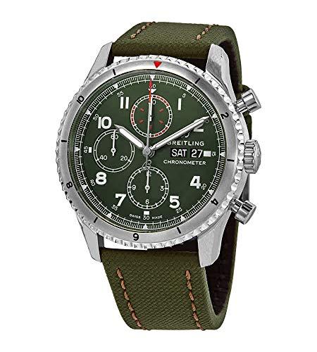 Breitling Aviator 8 - Reloj cronógrafo 43 Curtiss Warhawk para Hombre